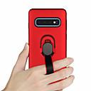 povoljno Maske/futrole za Huawei-Θήκη Za Samsung Galaxy S9 / S9 Plus / S8 Plus Prsten držač Stražnja maska Jednobojni Tvrdo TPU / PC