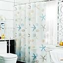 رخيصةأون ديكور الحائط-ستائر الدش الحديث PEVA ضد الماء حمام