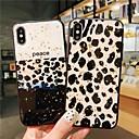 رخيصةأون أغطية أيفون-غطاء من أجل Apple iPhone XS / iPhone XR / iPhone XS Max نموذج غطاء خلفي طباعة جلد نمر ناعم TPU