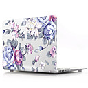 "economico Custodie per MacBook Pro 15""-MacBook Custodia Fiore decorativo PVC per MacBook Pro 13 pollici con display Retina / MacBook Air 13 pollici / New MacBook Air 13"" 2018"