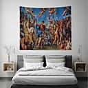povoljno Zidni ukrasi-Klasični Tema / Tema bajka Zid Decor 100% poliester Vintage / Tradicionalno Wall Art, Zidne tapiserije Ukras