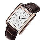 ieftine Brățări-Pentru femei Quartz Piața de ceas Quartz PU piele Negru / Alb / Maro Ceas Casual Analog Modă Elegant - Negru / Argintiu Negru+Alb Roz auriu Un an Durată de Viaţă Baterie