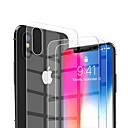 povoljno Muški satovi-AppleScreen ProtectoriPhone XS Visoka rezolucija (HD) Prednja zaštitna folija 2 kom Kaljeno staklo