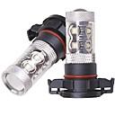 رخيصةأون مصابيح الضباب للسيارات-OTOLAMPARA 2pcs H10 / H16 / H9 سيارة لمبات الضوء 50 W SMD 2323 2200 lm 10 LED ضوء الضباب من أجل تويوتا RAV4 / Prius / Prado 2012 / 2013 / 2014