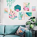 رخيصةأون ديكورات خشب-لواصق حائط مزخرفة - لواصق / ملصقات الحائط الحيوان 3D دورة المياه / غرفة الطعام / غرفة دراسة / مكتب