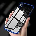 رخيصةأون أغطية أيفون-غطاء من أجل Apple iPhone XS / iPhone XR / iPhone XS Max تصفيح غطاء خلفي لون سادة ناعم TPU