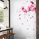 رخيصةأون ملصقات ديكور-لواصق حائط مزخرفة - لواصق حائط الطائرة الأزهار / النباتية غرفة الجلوس / غرفة النوم / دورة المياه
