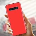 رخيصةأون حافظات / جرابات هواتف جالكسي S-غطاء من أجل Samsung Galaxy S9 / S9 Plus / S8 Plus نحيف جداً / مثلج غطاء خلفي لون سادة ناعم TPU