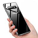 ieftine Produse Fard-Maska Pentru Samsung Galaxy Galaxy S10 / Galaxy S10 Plus Anti Praf / Placare / Transparent Capac Spate Mată Moale TPU