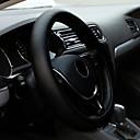 ieftine Cercei-universal anti-alunecare respirabil u piele diy masina volanul carcasa de acoperire cu ace și fir de auto-stying