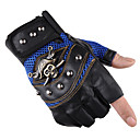 cheap Motorcycle Gloves-Half-finger Unisex Motorcycle Gloves Leather Breathable / Wearproof / Non Slip