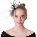 ieftine Bijuterii de Păr-Pentru femei femei Vintage Petrecere Elegant Pană Material Textil Tiare Nuntă Party / Seara - Floral