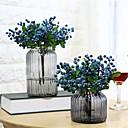 رخيصةأون أزهار اصطناعية-زهور اصطناعية 5 فرع كلاسيكي أنيق أسلوب بسيط نباتات الزهور الخالدة أزهار الطاولة