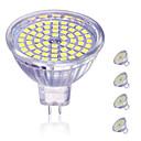 ieftine Spoturi LED-4 buc 5 W Spoturi LED 450 lm MR16 60 LED-uri de margele SMD 2835 Decorativ Încântător Alb Cald Alb Rece 12 V