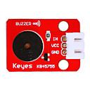 저렴한 모듈-ky0043 3pin 듀폰 와이어가있는 수동 부저 (빨간색) 흰색 단자