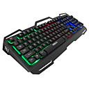 رخيصةأون لوحات المفاتيح-IMICE AK400 USB سلكي لوحة مفاتيح الألعاب لوحة المفاتيح الوسائط المتعددة مضيء موضوع لون الخلفية 104 pcs مفاتيح