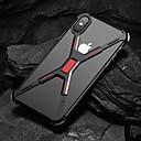 voordelige iPhone-hoesjes-hoesje Voor Apple iPhone XS / iPhone XR / iPhone XS Max Schokbestendig Achterkant Effen Hard Aluminium