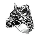 preiswerte Ringe Herren-Herrn Statement-Ring 1pc Silber Aleación Geschenk Alltag Schmuck Cool