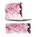"voordelige iPhone-hoesjes-MacBook Case with Protectors Bloem PVC voor MacBook Air 13"" / Nieuwe MacBook Pro 15"" / New MacBook Air 13"" 2018"