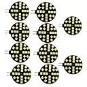رخيصةأون أغطية أيفون-10pcs 3.5 W أضواء LED Bi Pin 200 lm G4 24 الخرز LED مصلحة الارصاد الجوية 5050