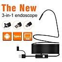 رخيصةأون أجهزة الميكروسكوب والمناظير-7 ملم عدسة المنظار الصناعي 1M طول العمل 3 في 1 فحص إصلاح السيارات
