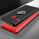 voordelige iPhone-hoesjes-hoesje Voor Huawei Huawei Nova 3i / Huawei Honor 10 / Huawei Honor 8X Ringhouder / Ultradun Achterkant Effen Zacht TPU