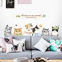 رخيصةأون ديكورات خشب-لواصق حائط مزخرفة - لواصق / ملصقات الحائط الحيوان حيوانات / 3D دورة المياه / غرفة الطعام / غرفة دراسة / مكتب