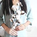 رخيصةأون أزهار اصطناعية-زهور اصطناعية 1 فرع كلاسيكي أسلوب بسيط النمط الرعوي نباتات أزهار الطاولة