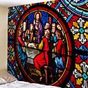 رخيصةأون ملصقات ديكور-كلاسيكيClassic Theme جدار ديكور 100 ٪ بوليستر عتيق / تقليدي جدار الفن, سجاد الحائط زخرفة