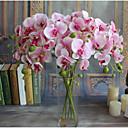 رخيصةأون أزهار اصطناعية-زهور اصطناعية 1 فرع كلاسيكي الزفاف النمط الرعوي الزهور الخالدة فالاينوبسيس أزهار الطاولة