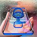 voordelige Huawei Mate hoesjes / covers-hoesje Voor Huawei Mate 10 / Mate 10 lite / Huawei Mate 20 lite Beplating / Ringhouder / Ultradun Achterkant Effen Zacht TPU / Transparant
