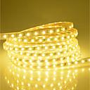 povoljno Fleksibilne LED svjetlosne trake-25m Savitljive LED trake 1500 LED diode 5050 SMD Toplo bijelo / Bijela / Crveno Vodootporno / Vjenčanje / Božićni vjenčani ukrasi 220-240 V