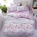 ieftine Extensii de Păr-Seturi Duvet Cover Floral Poliester Imprimat 4 PieseBedding Sets
