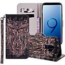 tanie Folie ochronne do Samsunga-Kılıf Na Samsung Galaxy S9 / S9 Plus / S8 Plus Portfel / Etui na karty / Z podpórką Pełne etui Zwierzę Twardość Skóra PU