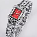 ieftine Ceasuri Damă-Pentru femei Quartz Quartz Stil Oficial Oțel inoxidabil Argint Ceas Casual Analog Modă Elegant - Negru Roșu-aprins Roz Îmbujorat Un an Durată de Viaţă Baterie