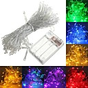 ieftine Bijuterii de Corp-6m Fâșii de Iluminat 40 LED-uri Alb Cald / RGB / Alb Creative / Petrecere / Potrivite Pentru Autovehicule Baterii alimentate 1 buc