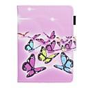 رخيصةأون حالة أقراص أخرى-غطاء من أجل KOBO kobo clara HD حامل البطاقات / ضد الصدمات / نموذج غطاء كامل للجسم فراشة قاسي جلد PU