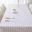 رخيصةأون شرشفات الطاولة-كلاسيكي PVC مربع قماش الطاولة شرشفات الطاولة هندسي مقاوم للماء الجدول ديكورات 1 pcs