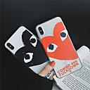 رخيصةأون شورتات-غطاء من أجل Apple iPhone XS / iPhone XR / iPhone XS Max شفاف / نموذج غطاء خلفي قلب ناعم TPU