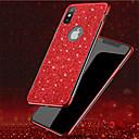 ieftine Carcase iPhone-Maska Pentru Apple iPhone XS / iPhone XR / iPhone XS Max Placare / Luciu Strălucire Capac Spate Transparent / Luciu Strălucire Moale TPU