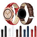 رخيصةأون أساور ساعات لهواتف سامسونج-حزام إلى Gear Sport / Gear S2 Classic / Samsung Galaxy Watch 42 Samsung Galaxy عصابة الرياضة جلد طبيعي شريط المعصم