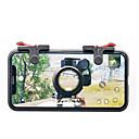 رخيصةأون إكسسوارات ألعاب الهواتف الذكية-D9 gamepad الزناد النار زر الهدف مفتاح تحكم مقبض l1r1 لجميع الهواتف الذكية