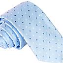 رخيصةأون ربطات عنق-ربطة العنق منقط / طباعة / خملة الجاكوارد رجالي حفلة / عمل / أساسي