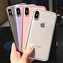 povoljno iPhone maske-Θήκη Za Apple iPhone XS / iPhone XR / iPhone XS Max Mutno / Prozirno Stražnja maska Jednobojni Mekano TPU