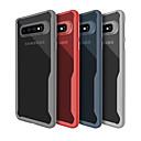 رخيصةأون حافظات / جرابات هواتف جالكسي S-غطاء من أجل Samsung Galaxy S9 / S9 Plus / S8 Plus نحيف جداً / شفاف غطاء خلفي لون سادة ناعم TPU