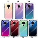 voordelige iPhone-hoesjes-hoesje Voor Huawei Huawei Nova 3i / Huawei Nova 4 / Mate 10 lite Ultradun Achterkant Kleurgradatie Hard Gehard glas