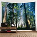 ieftine Acțibilde de Decorațiuni-Temă Grădină / Temă Florală Wall Decor 100% Poliester Modern Wall Art, Tapiserii de perete Decor