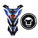 povoljno Auto Body Decoration & Zaštita-5d ugljičnih vlakana motocikl spremnik goriva jastučić kapica naljepnice za plin hvatač naljepnica za honda cb500 cbr300r cb300f cbr150 cbr500r