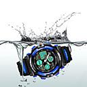 رخيصةأون ساعات الرجال-SKMEI ساعة رياضية ساعة رقمية كوارتز جلد اصطناعي أسود 30 m مقاوم للماء المنبه رزنامه تناظري-رقمي موضة للأطفال - أصفر أحمر أزرق سنتان عمر البطارية / الكرونوغراف / منطقتا زمنية / ساعة التوقف / قضية