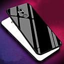 رخيصةأون Huawei أغطية / كفرات-غطاء من أجل Huawei Mate 10 / Mate 10 pro / Mate 10 lite ضد الصدمات غطاء خلفي لون سادة قاسي TPU / زجاج مقوى